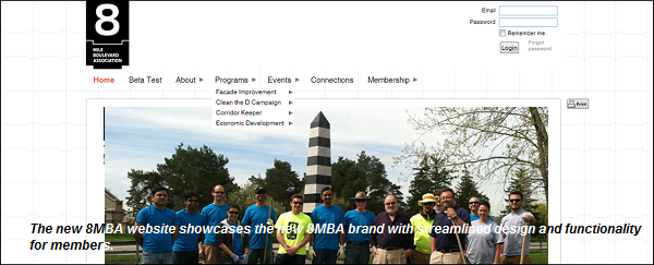 New 8MBA Website Homepage Preview